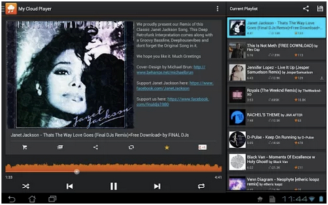 Top 5 soundcloud downloader app android - My Cloud Player