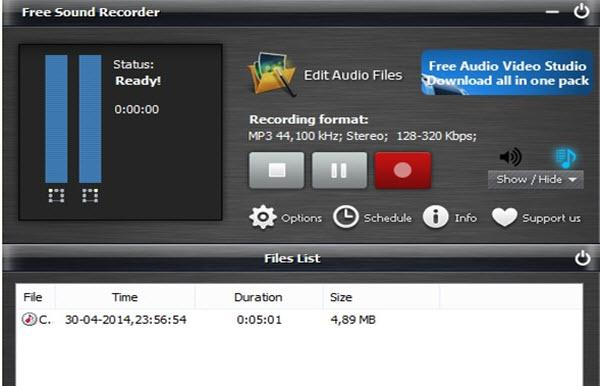 Top downloadify alternatives--free sound recorder