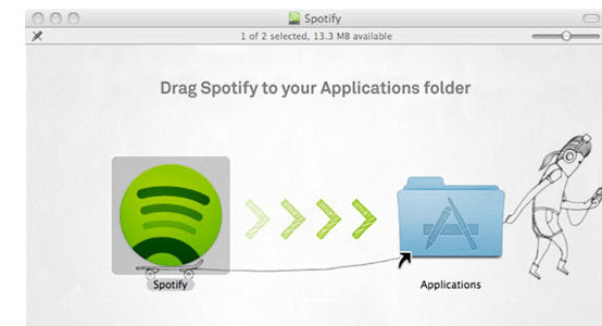 How to install Spotify-on Mac
