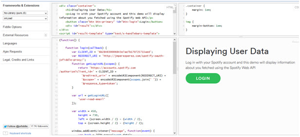Knowledge of spotify API for Spotify Developer-Basic snippets