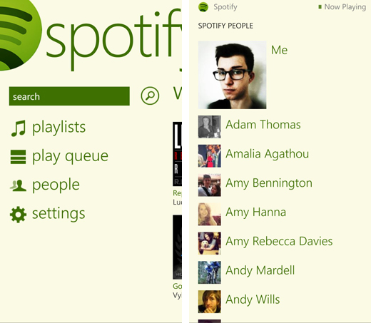 No restriction now to listen to Spotify music on Windows phone-play queue