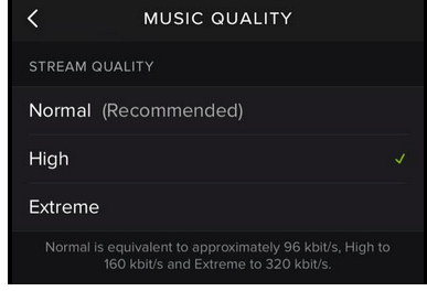 How to Change Music Quality on App for Android and iOS