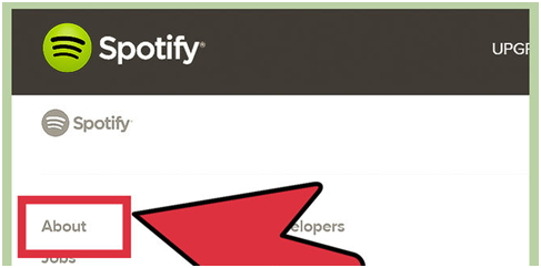 How to Delete Spotify Account Permanently-About tab