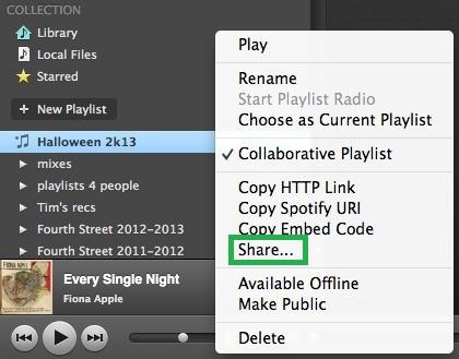 How to Make a Spotify Collaborative Playlist on PC-share