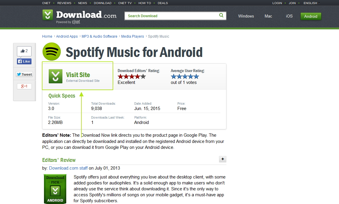 how to download spotify android-cnet