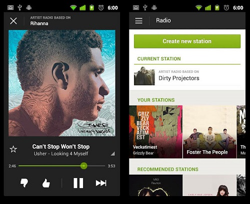 Spotify Client for windows mac linux iOS Android-Mobile Clients