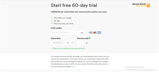 Spotify Trial, Premium and Free