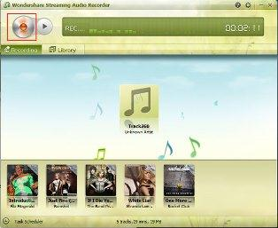 how to download playlists from spotify-start recording