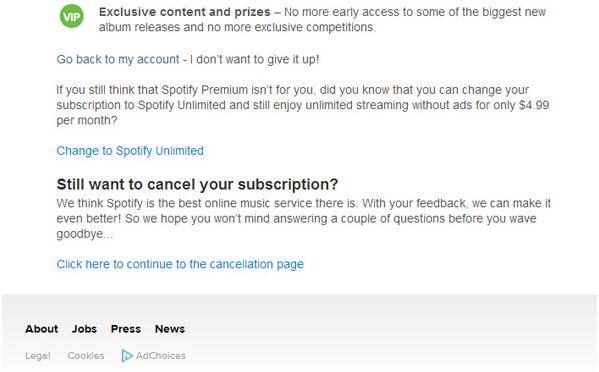 tips-spotify-subscription-cancel your subscription
