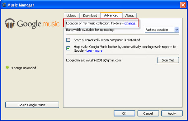 How to download spotify and put into Google Music