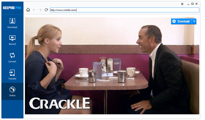 download Crackle videos - open Crackle video site