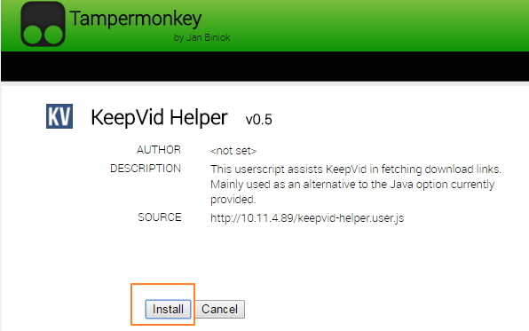 DownloadHelper for Chrome-Install Keepvid Helper