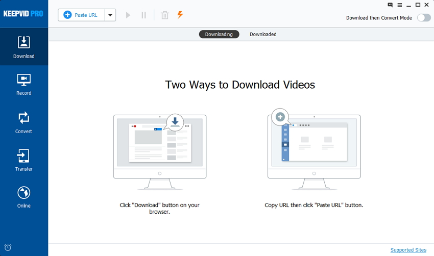 Download Videos from eHow - Start KeepVid Pro