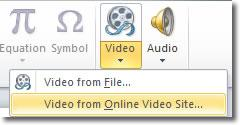 Insert Youtube video into Powerpoint -PowerPoint 2010