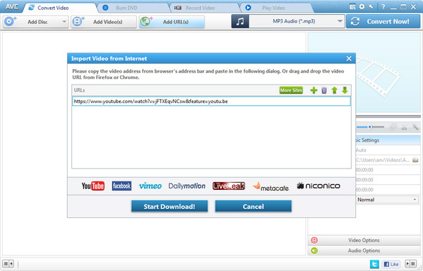 All-in-One YouTube Downloader and Converter - Any Video Converter
