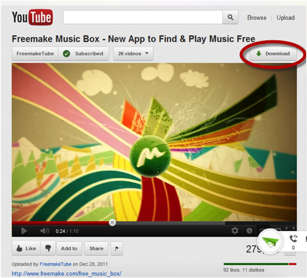 Chrome extension video download
