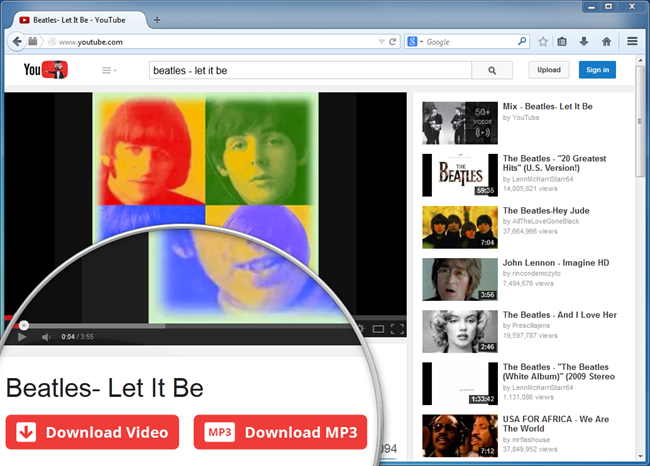 IE YouTube Downloader