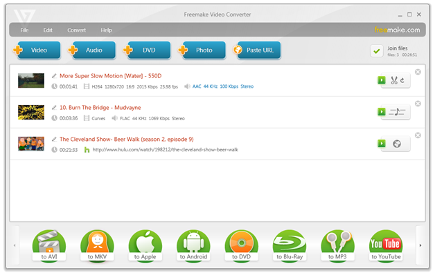 Top 10 free youtube downloader 2016 - Freemake Video Converter