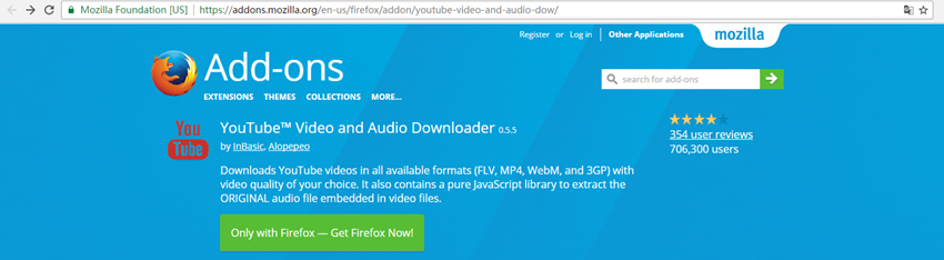 YouTube Playlist Downloader - Get the Add-on
