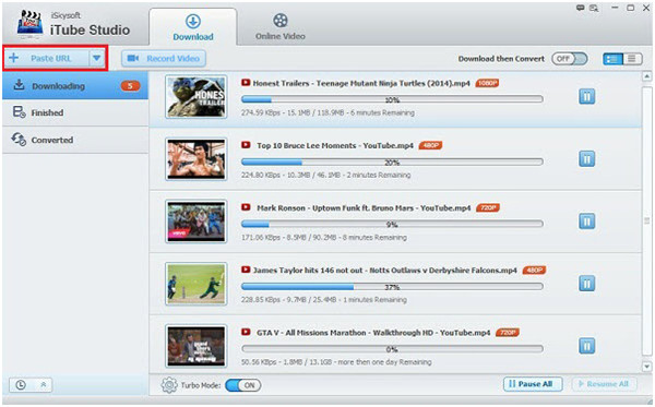 Top 10 HD YouTube downloader of 2016