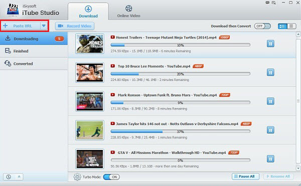 All-in-One YouTube Downloader and Converter - iSkysoft iTube Studio
