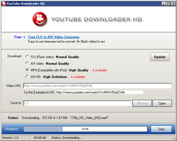 Download YouTube Videos to Computer - YouTube Downloader HD