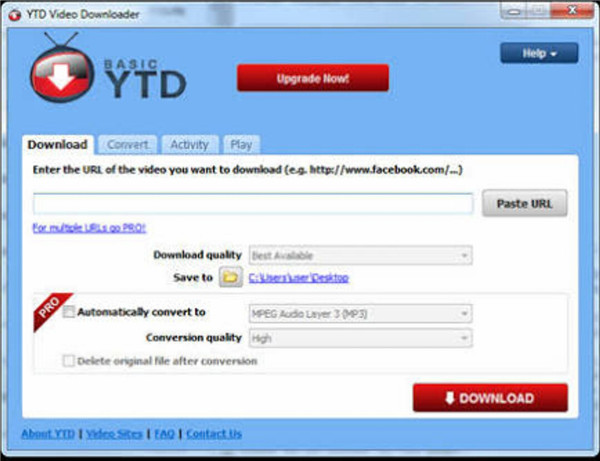 Download YouTube Videos to Computer - YTD Downloader