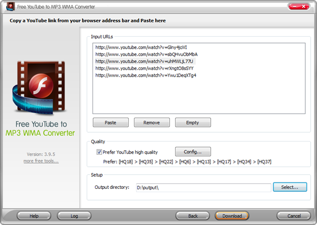 Top 10 Best YouTube Audio Downloader - Free YouTube to MP3 WMA Converter