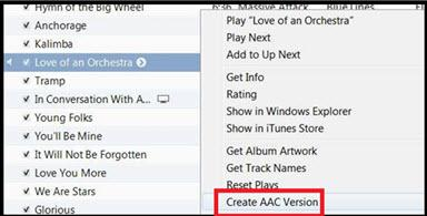How to make ringtones from Youtube-create aac
