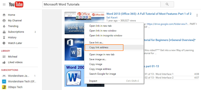 Download microsoft word tutorials-copy link