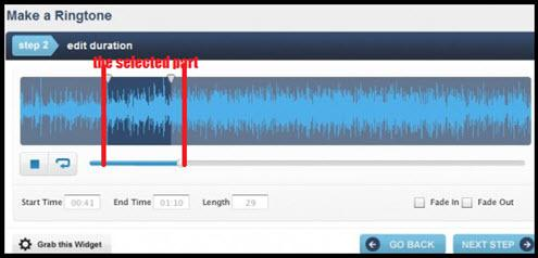 How to make ringtones from Youtube-make ringtone online3