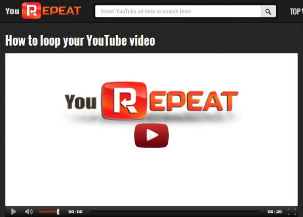 Tips for watching YouTube-repeat youtube videos