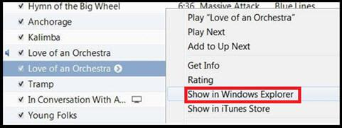 How to make ringtones from Youtube-show in windows explorer