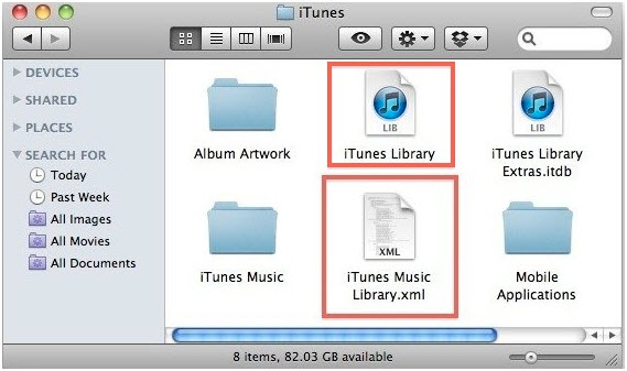 difficolt missing playlist di itunes con un vecchio itunes music library xml