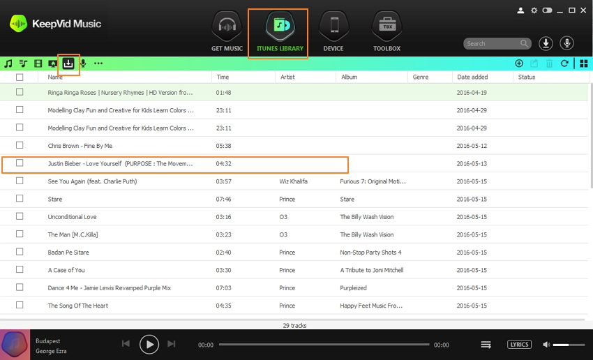deezer playlist - download deezer playlists to mp3 step 4