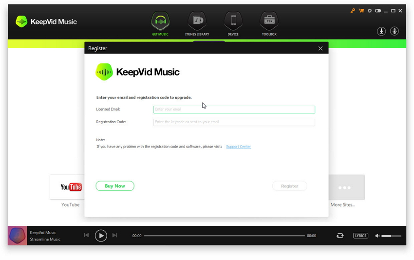 Keepvid Music - Get Started