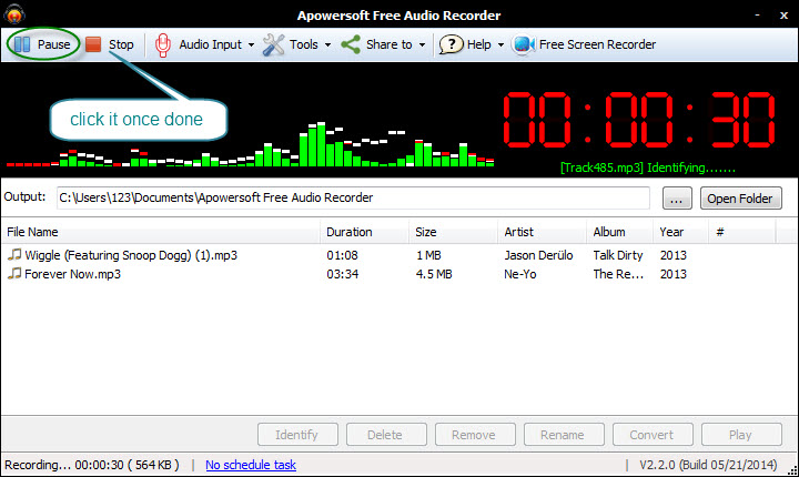 How to record online music and tranfer to iTunes-recording