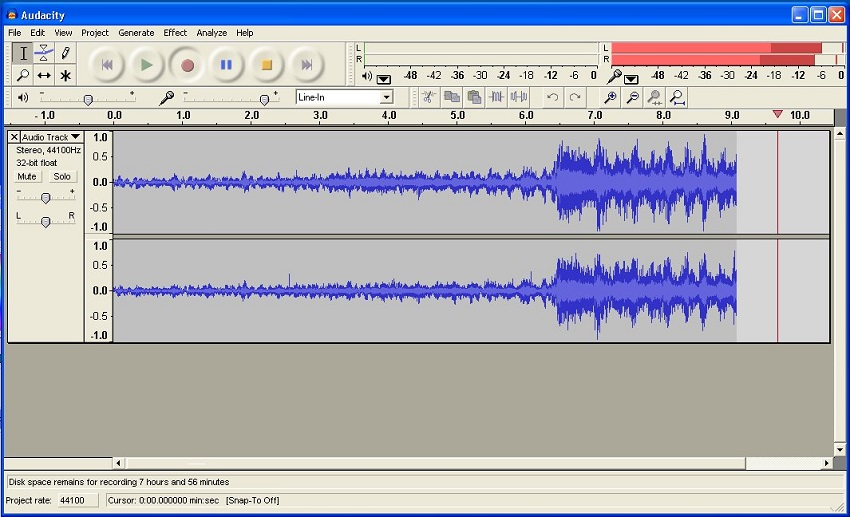 Record pandora to iTunes-Audacity