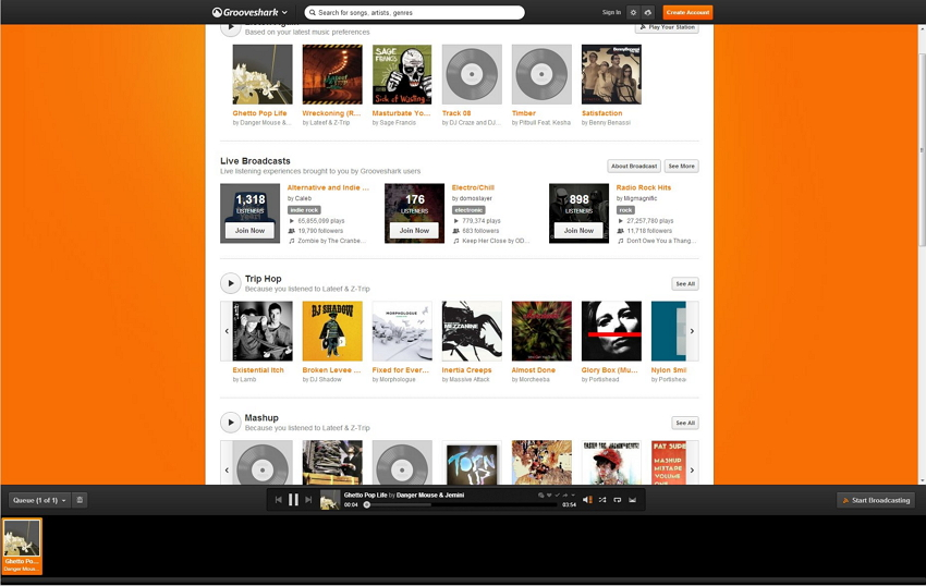 transfer Grooveshark to iTunes-play grooveshark music