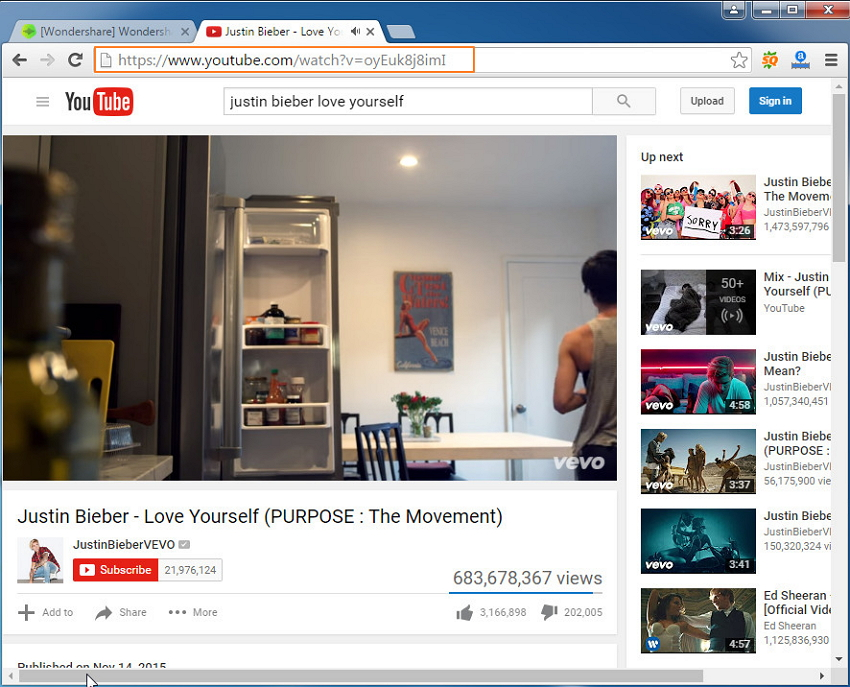How to download youtube music to itunes youtube to itunes converter copy url ccuart Images