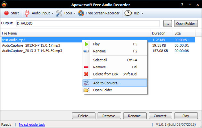 Top 10 Free Recording Software for Mac - Apowersoft Mac Audio Recorder