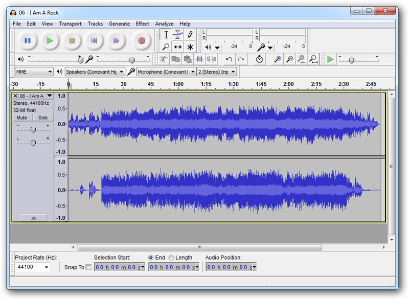 Top 10 Recording Software for Windows - Audacity