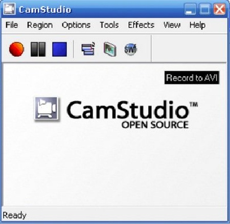 Top 10 Recording Software for Windows - CamStudio