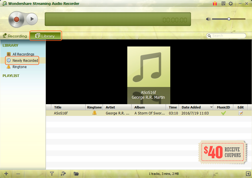 Convert Streaming Video to MP3 - Locate Recorded Music