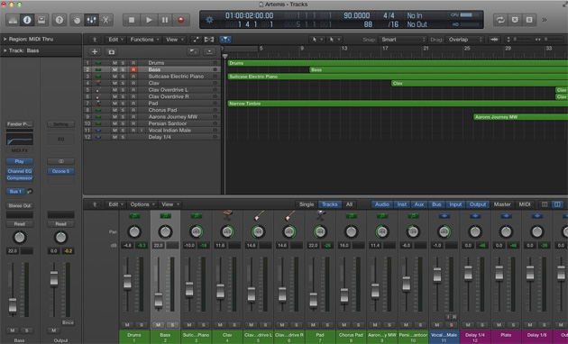 Top 10 Free Recording Software for Mac - Logic Pro