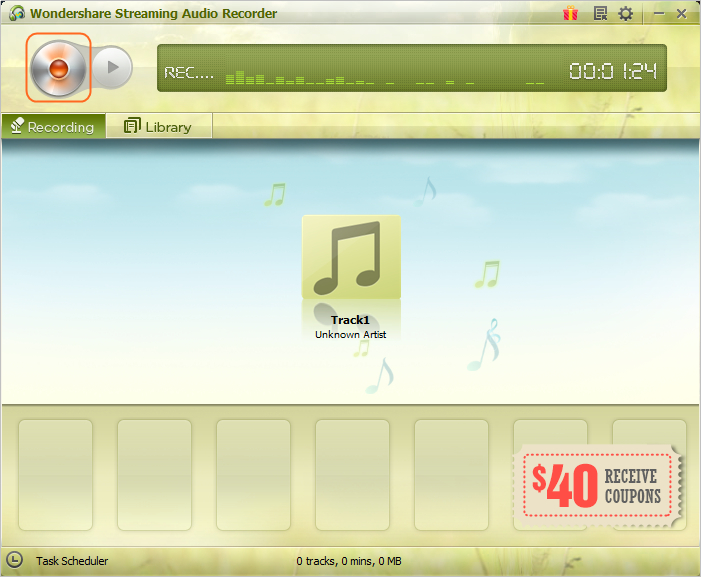 Convert Rhapsody to MP3 - Record Music
