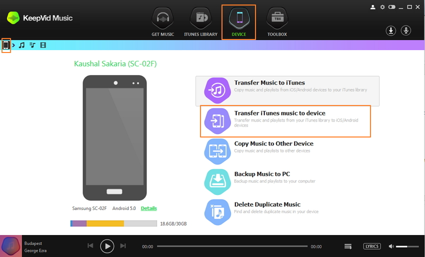 Music Recorder for Android - Transfer Music