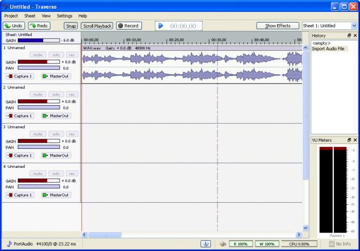 Top 10 Free Recording Software for Mac - Traverso