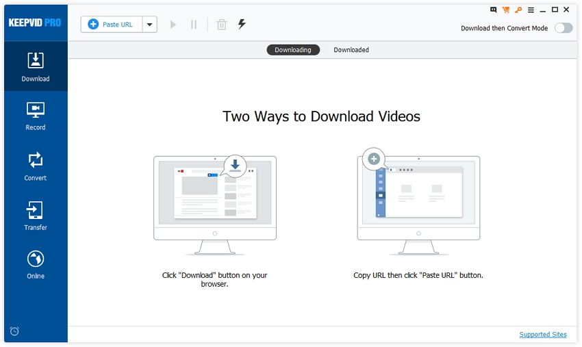 Helpful Alternatives to Flvto YouTube Downloader - Start KeepVid Pro
