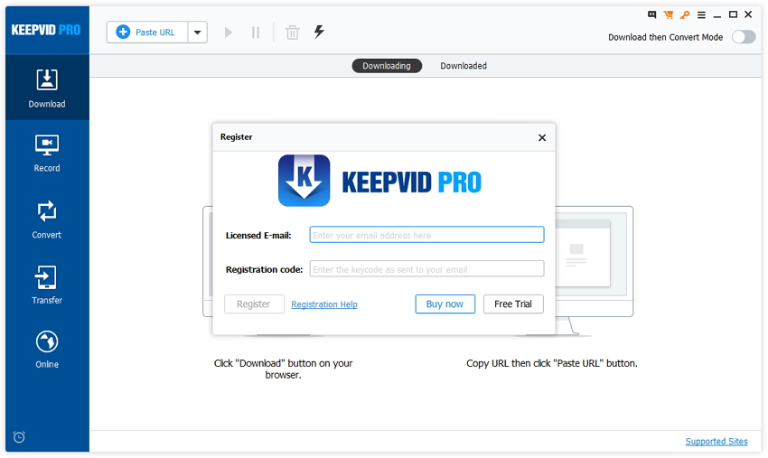 Register KeepVid Pro - Register KeepVid Pro